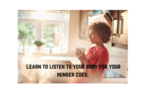 Intuitive Eating hunger cues