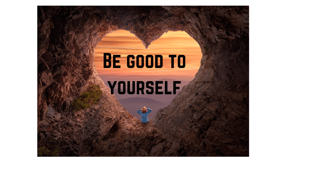 Be good to your body