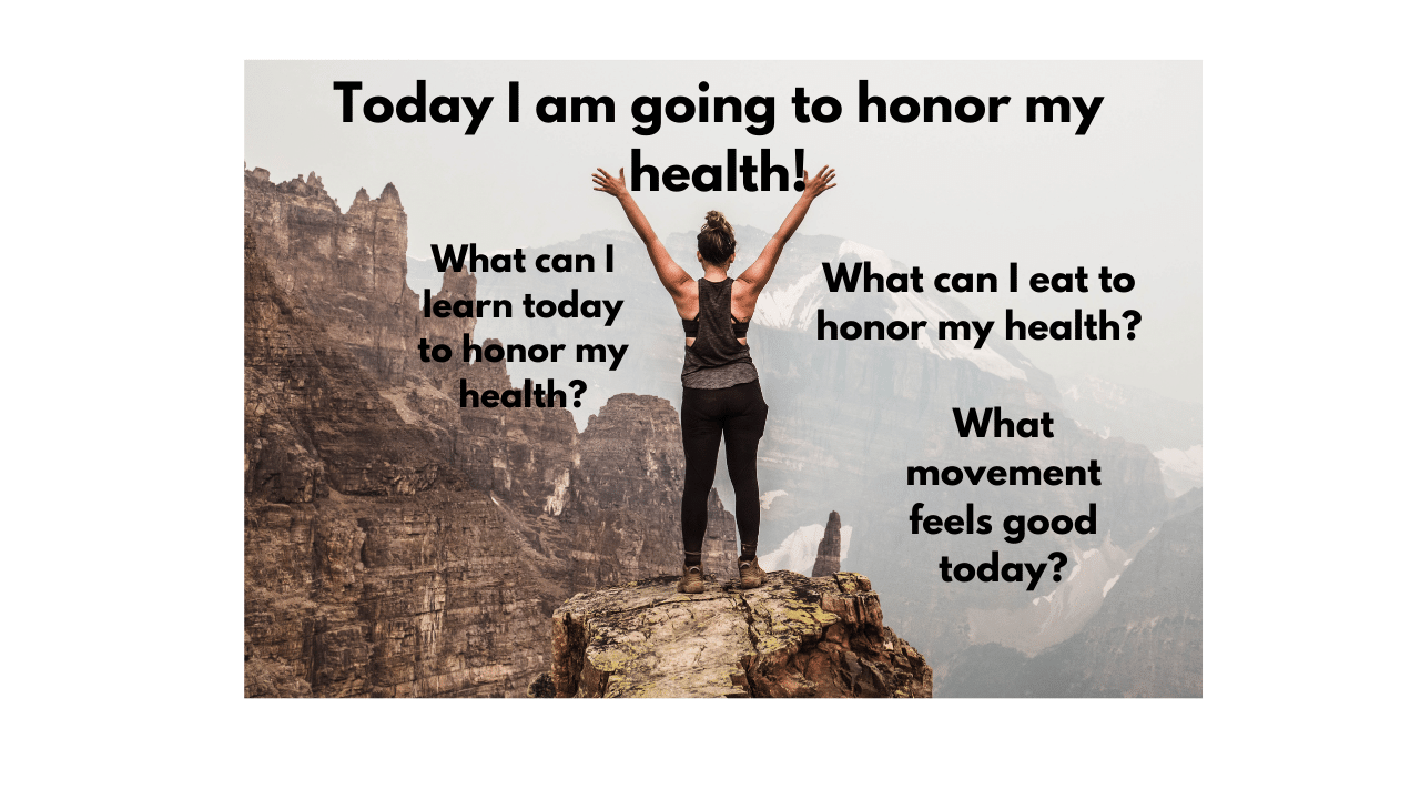 Honor your health