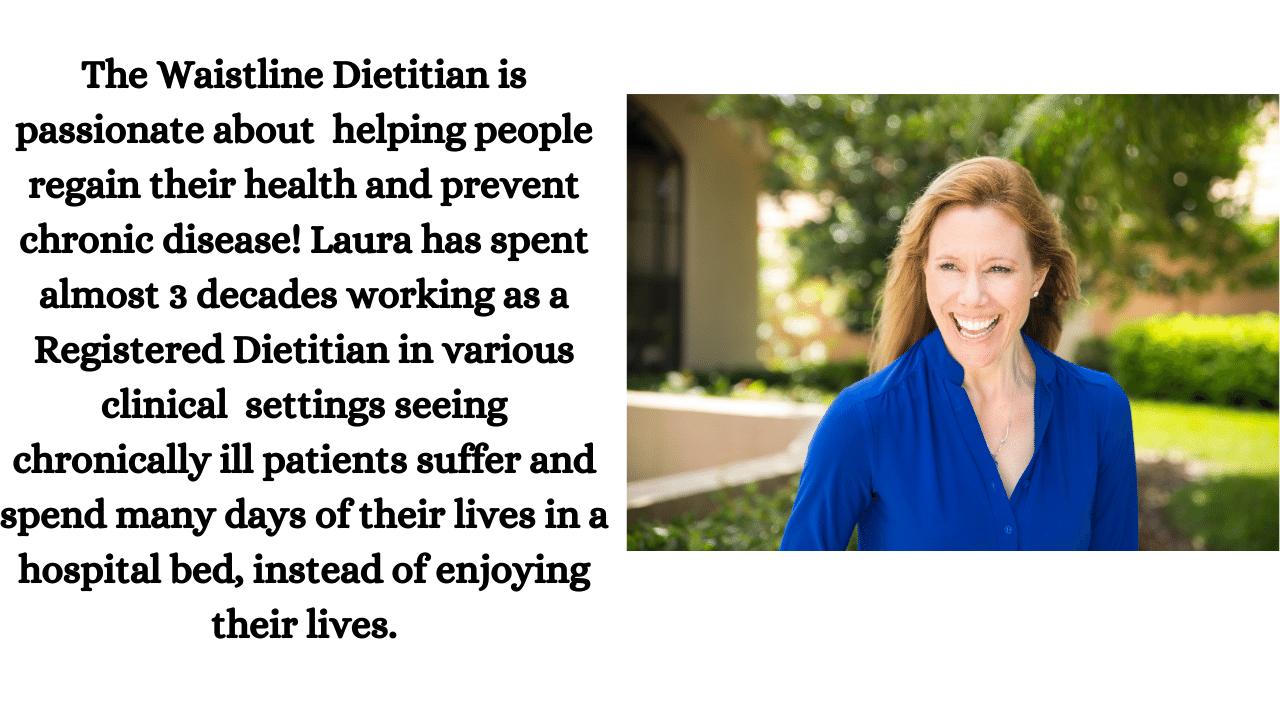 About waistline dietitian