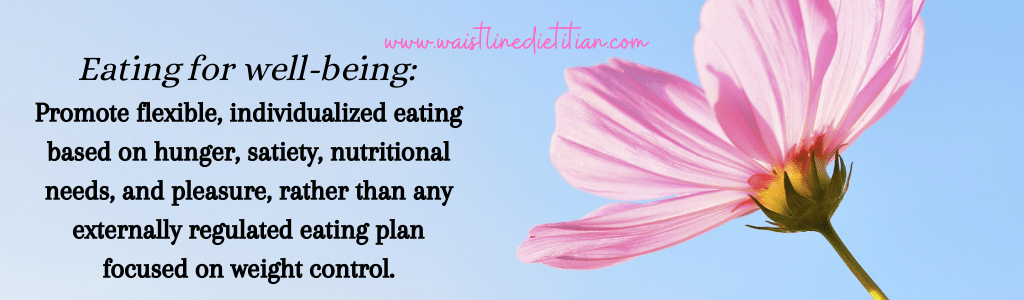 Eating for Well-being