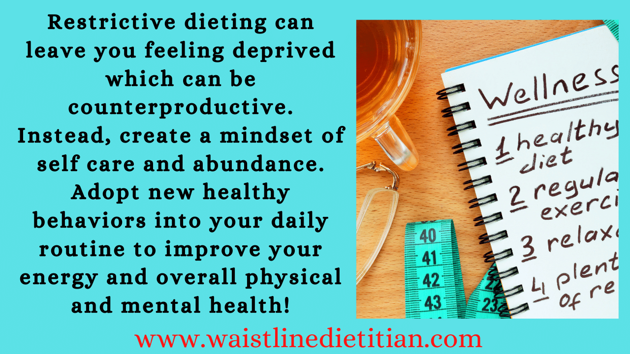 About page for www.waistlinedietitian.com
