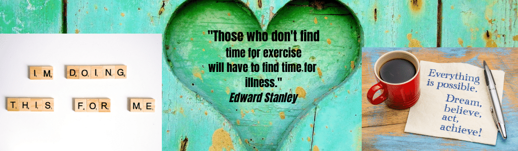 Those who don't find time to exercise with have to fund time for illness.