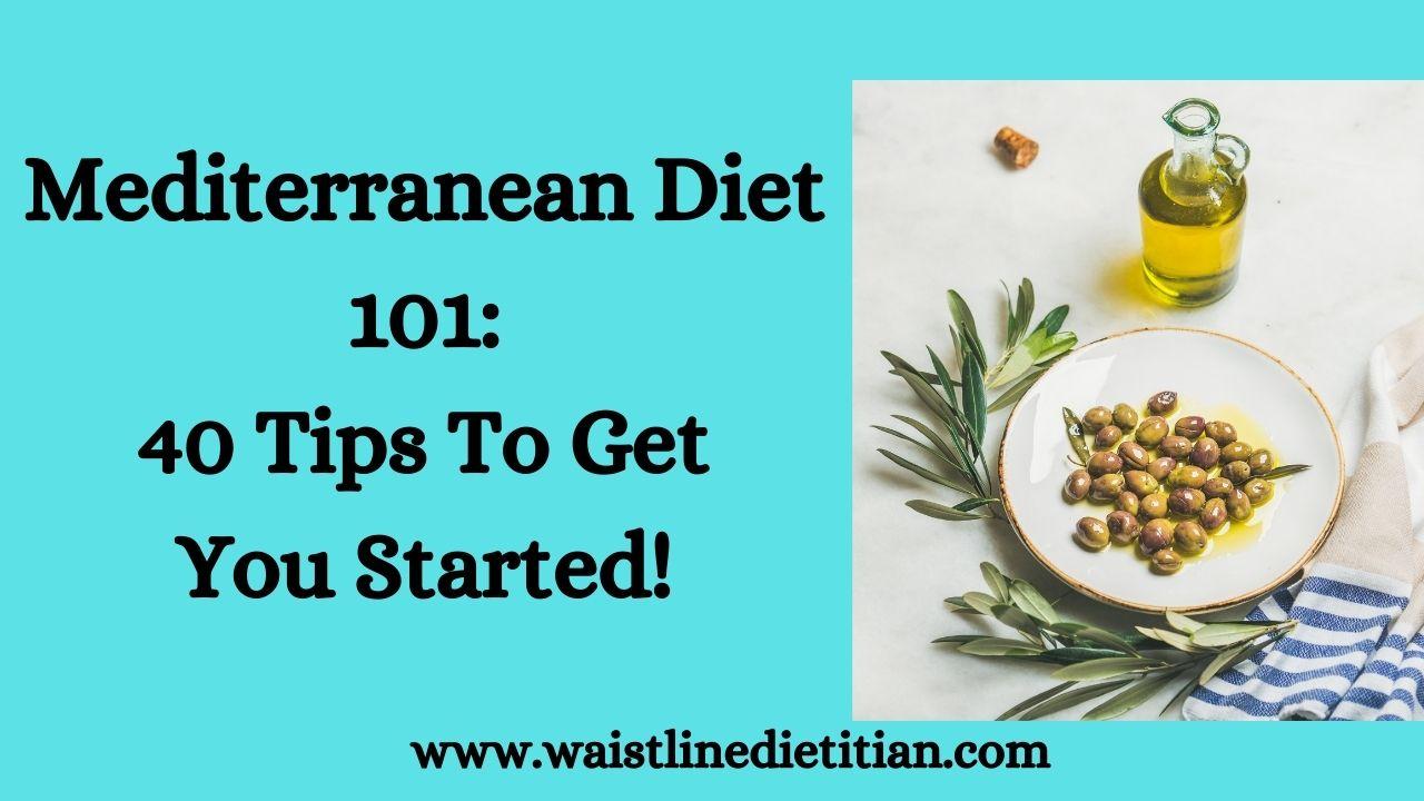 Mediterranean Diet 101 Title